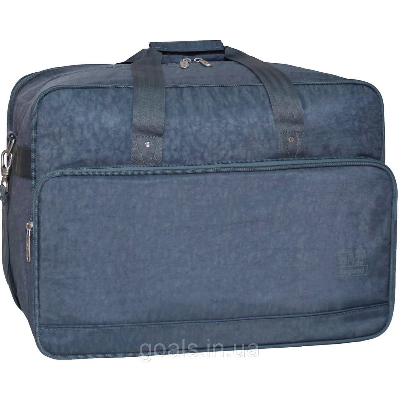 Украина Дорожная сумка Bagland Рига 36 л. 321 серый (0030370)