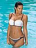 Яркий пляжный купальник M 505 CAREN (в размерах S-2XL и расцветках) Коралловый, S, фото 4