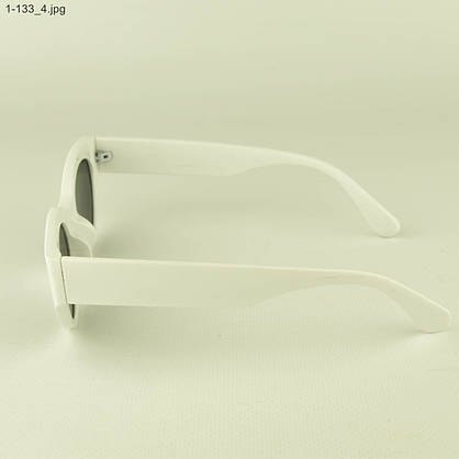 Солнцезащитные очки овальной формы - Белые - 1-133, фото 2