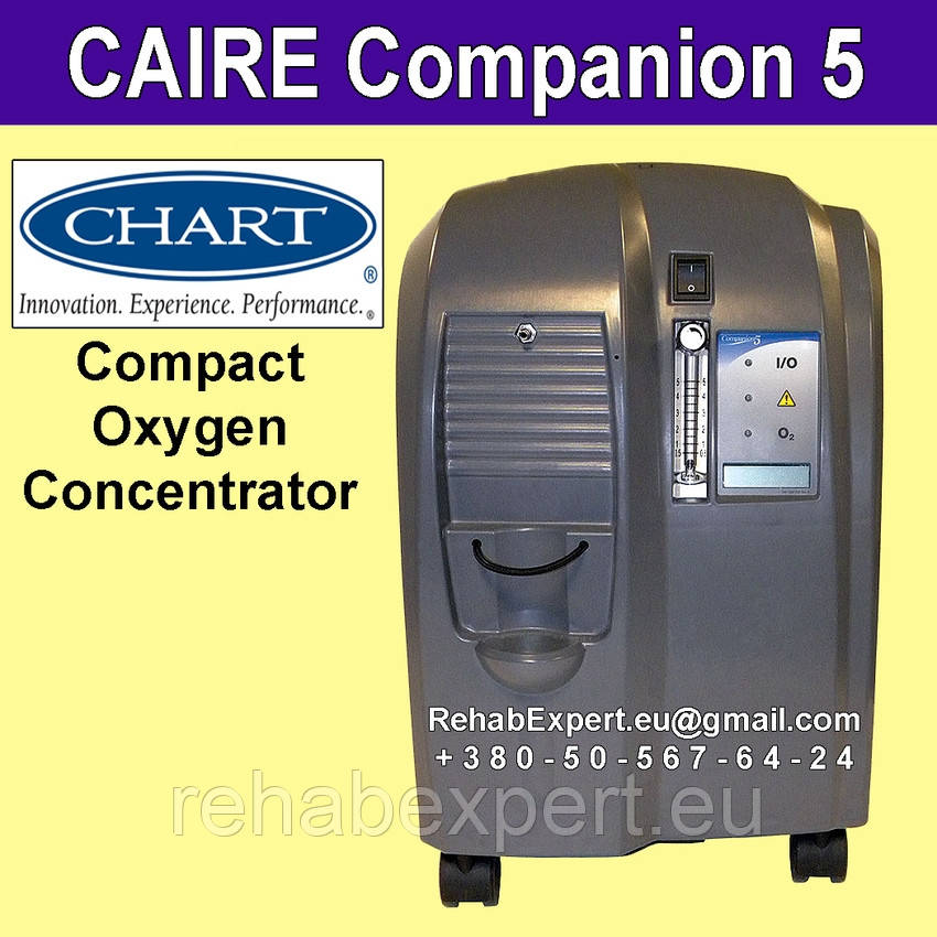 Chart CAIRE Companion 5 Oxygen Concentrator