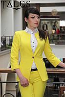 Жакет женский Corsar_yellow, фото 1