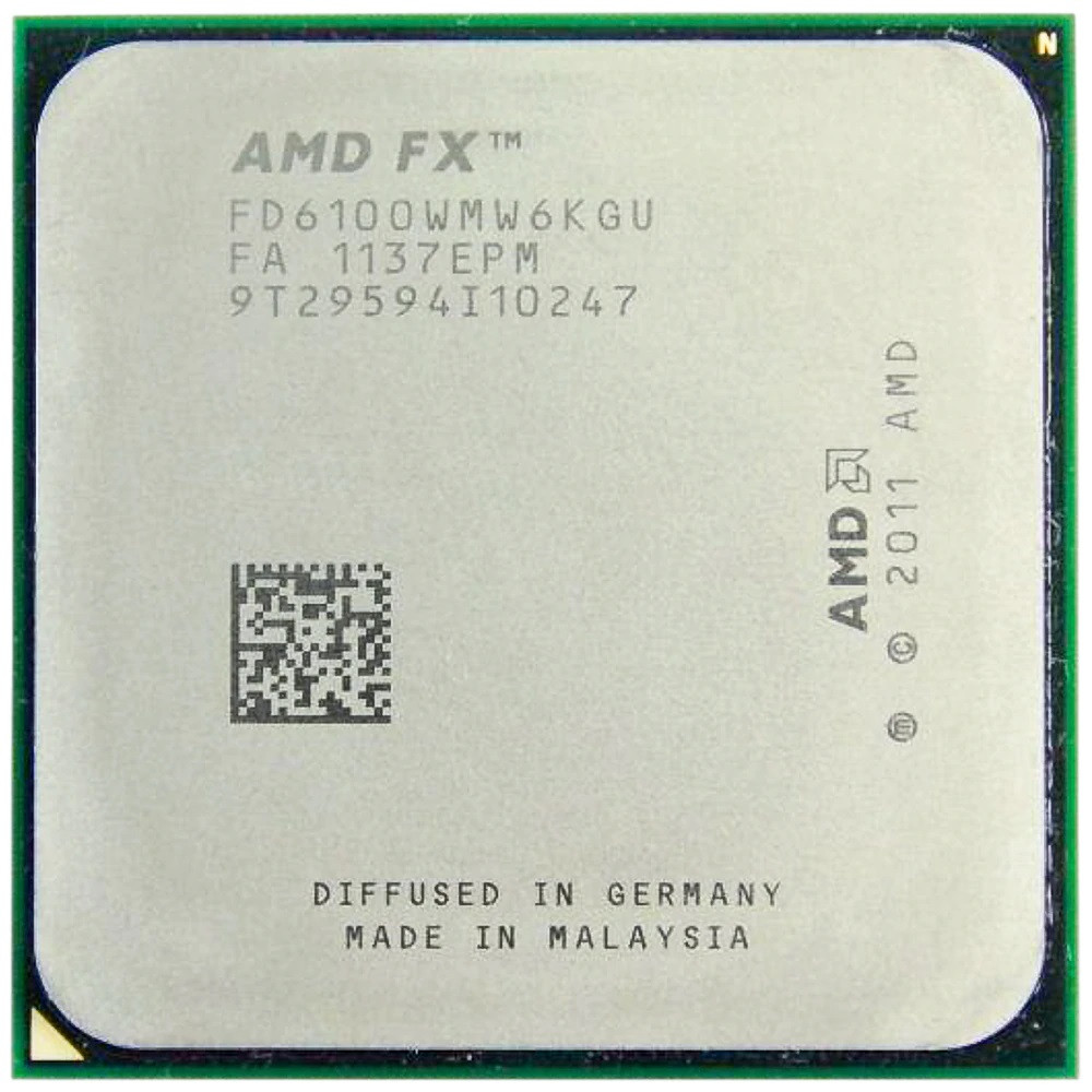 "Процессор AMD FX-6100 FD6100WMW6KGU 3.3GHz sAM3+ Tray ""Over-Stock"" Б/У"
