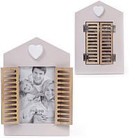 Фоторамка Babyroom Окно со ставнями для фото 10х15см деревянная (psg_BD-443-538)