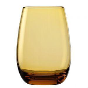 "Набор из 6-ти стаканов ""Elements Amber"" 8.5х12см/465мл стеклянный Stoelzle"