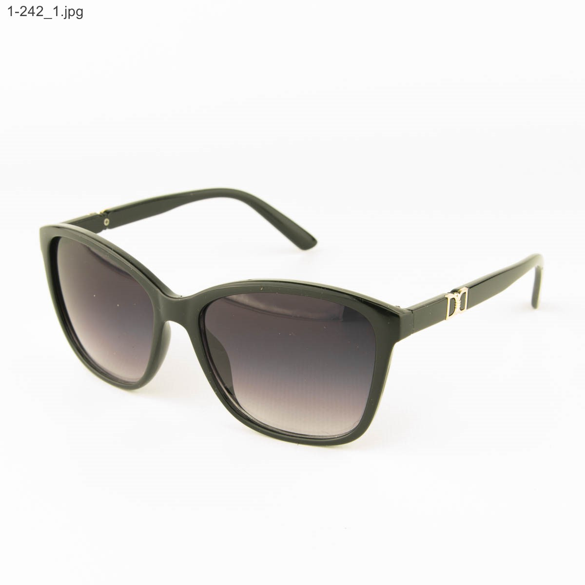 Очки солнцезащитные женские - черные - 1-242, фото 1