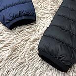 Куртка мужская синяя Турция. Живое фото (весенняя куртка), фото 5