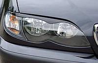 Накладки на фары (реснички) для BMW E46