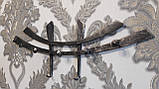 """Настенная кованая вешалка в прихожую из металла код """"1107"""", фото 3"""