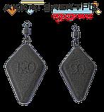 Груз карповый Ромб 90г (10 шт), фото 2