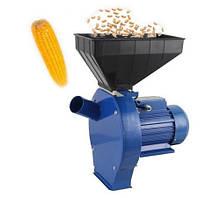 Кормоизмельчитель электрический Эликор-3 (зерно и початки кукурузы). Кукурузолущилка и зернодробилка
