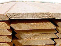 Планкен скошений Модрина, ромбус дерев'яний планкен 20х140х4000, фото 1