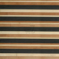 Обои бамбуковые LZ-0812 17/17/7,5 мм 1,5 м чорные/коричневые/натуральные