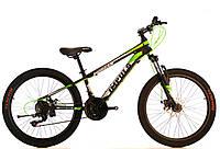 Велосипед спортивный impuls 26 MORGAN СЕРО-САЛАТОВЫЙ, фото 1