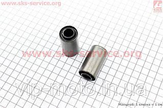 Сайлентблок двигателя к-кт 2шт (25*12*45)