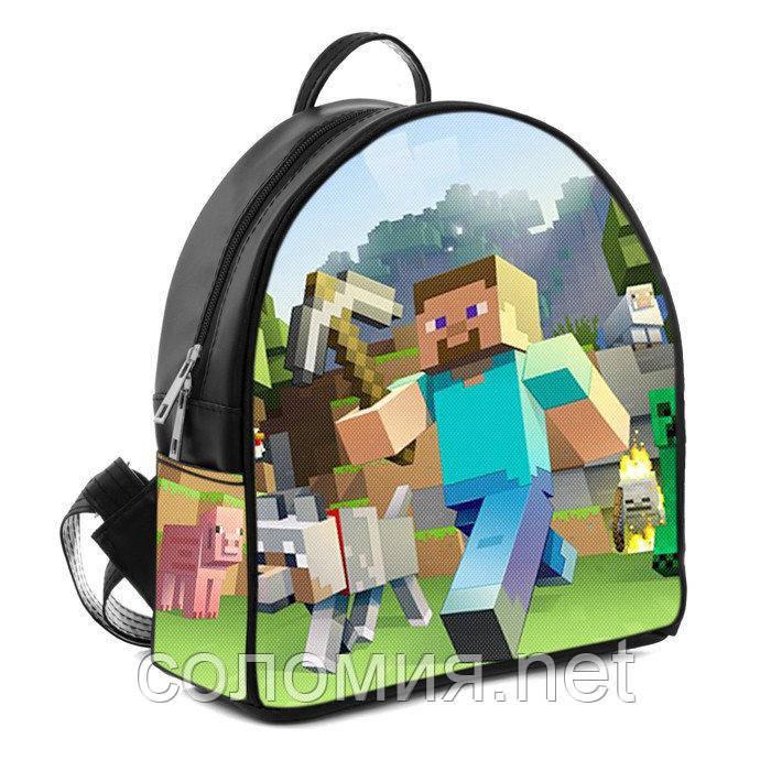 cda728ff85dc Детский рюкзак с рисунком Майнкрафт Minecraft: продажа, цена в Києві ...