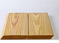Планкен косой  лиственница сибирская АВ, ромбус, обшивочная фасадная доска, фото 1