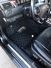 Автоковры 5D Экокожа Toyota Camry 50 , фото 3