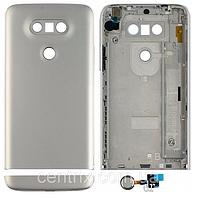 Задняя крышка для LG H820 G5, H830, H840, H850, US992, VS987, серая, оригинал
