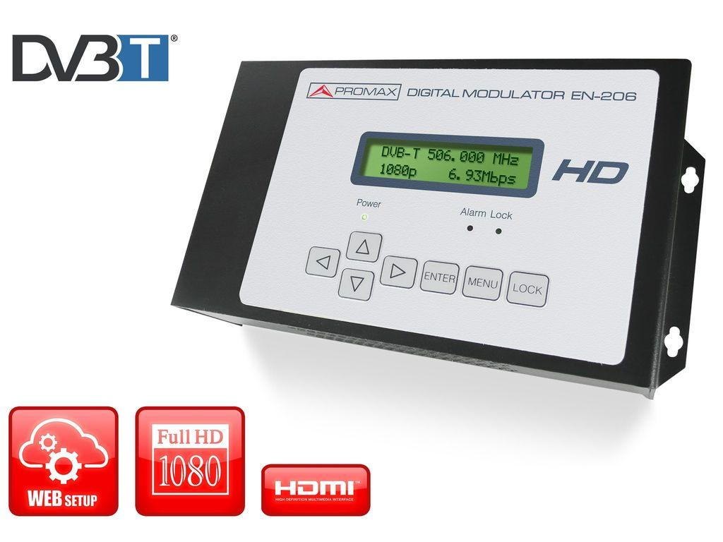 Цифровой модулятор высокой четкости DVB-T EN-206 Lite
