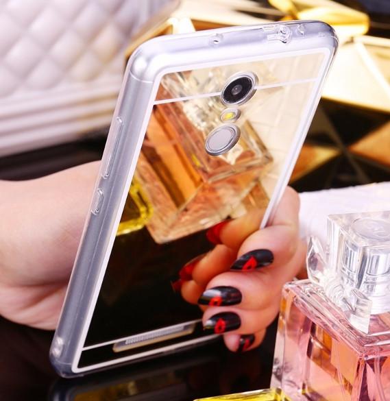 Зеркальный силиконовый чехол для Xiaomi Redmi 6