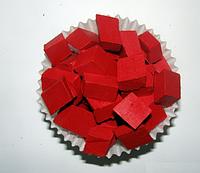 Краситель красный восковый для свечей