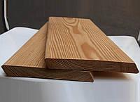 Планкен косой Лиственница сибирская, ромбус, фасадная доска планкен скошенный 20х90, фото 1