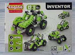 Конструктор 12 в 1 Автомобілі 1231+ Engino Кипр