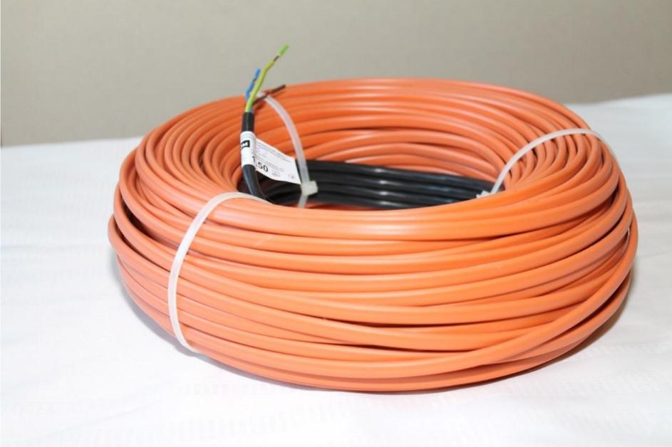 """Двухжильный экранированный нагревательный кабель """"Prime-ES"""" для теплого пола, антиоблединения, подогрева почвы"""