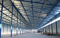 Строительство ангаров,зернохранилищ,складов ю