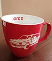 Оригинальная фарфоровая кружка Volkswagen GTI Mug, Red/White (5KA069601A), фото 3