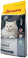 Сухой корм для кошек с проблемами кожи и шерсти Josera Catelux Adult утка и картофель 400 грамм