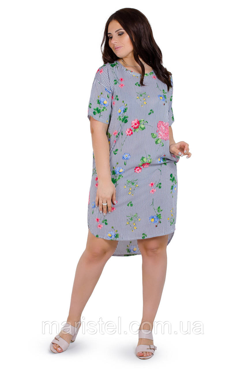 Женское летнее платье 1820-2