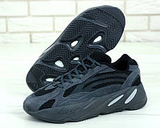 Мужские кроссовки в стиле Adidas Yeezy Boost 700 Black (41, 42, 44, 45 размеры), фото 3