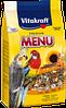 Основной корм для средних попугаев Витакрафт  Vitakraft Menu Vital 1 кг.