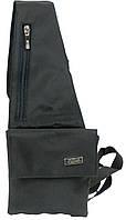 Нагрудная мужская городская сумка Splash SSP28-01 черная