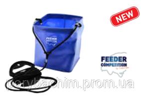 Мягкий водонепроницаемый контейнер для набора воды EVA Drop Bucket, 17,5x17,5x20,0см