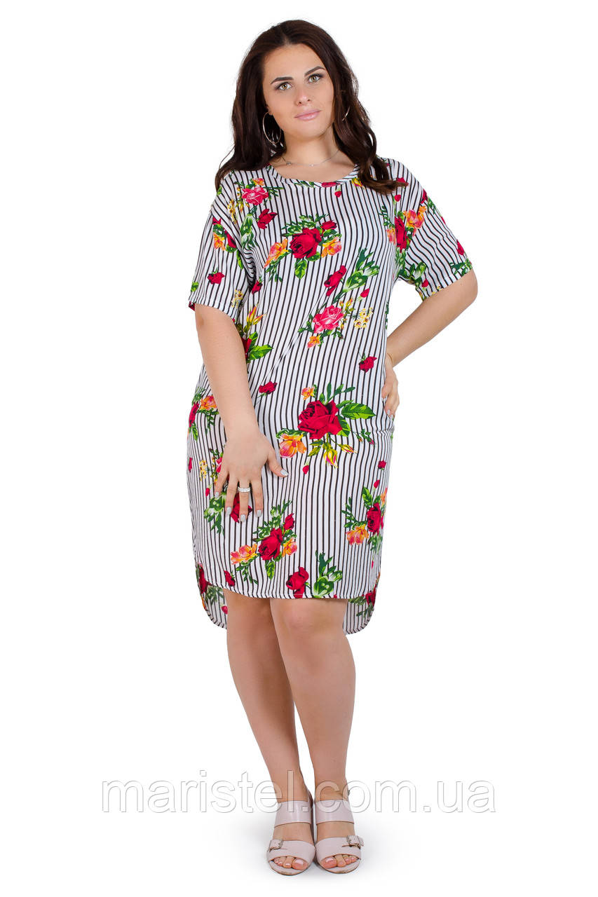 Женское летнее платье 1820-3