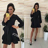 Женское платье с длинным рукавом , фото 1