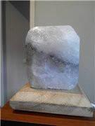 Соляная лампа Куб маленький 1-2 кг цветная светильник