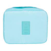 Дорожный органайзер для макияжа Mаkeup pouch Ver.5  бирюзовый 01029/03, фото 1