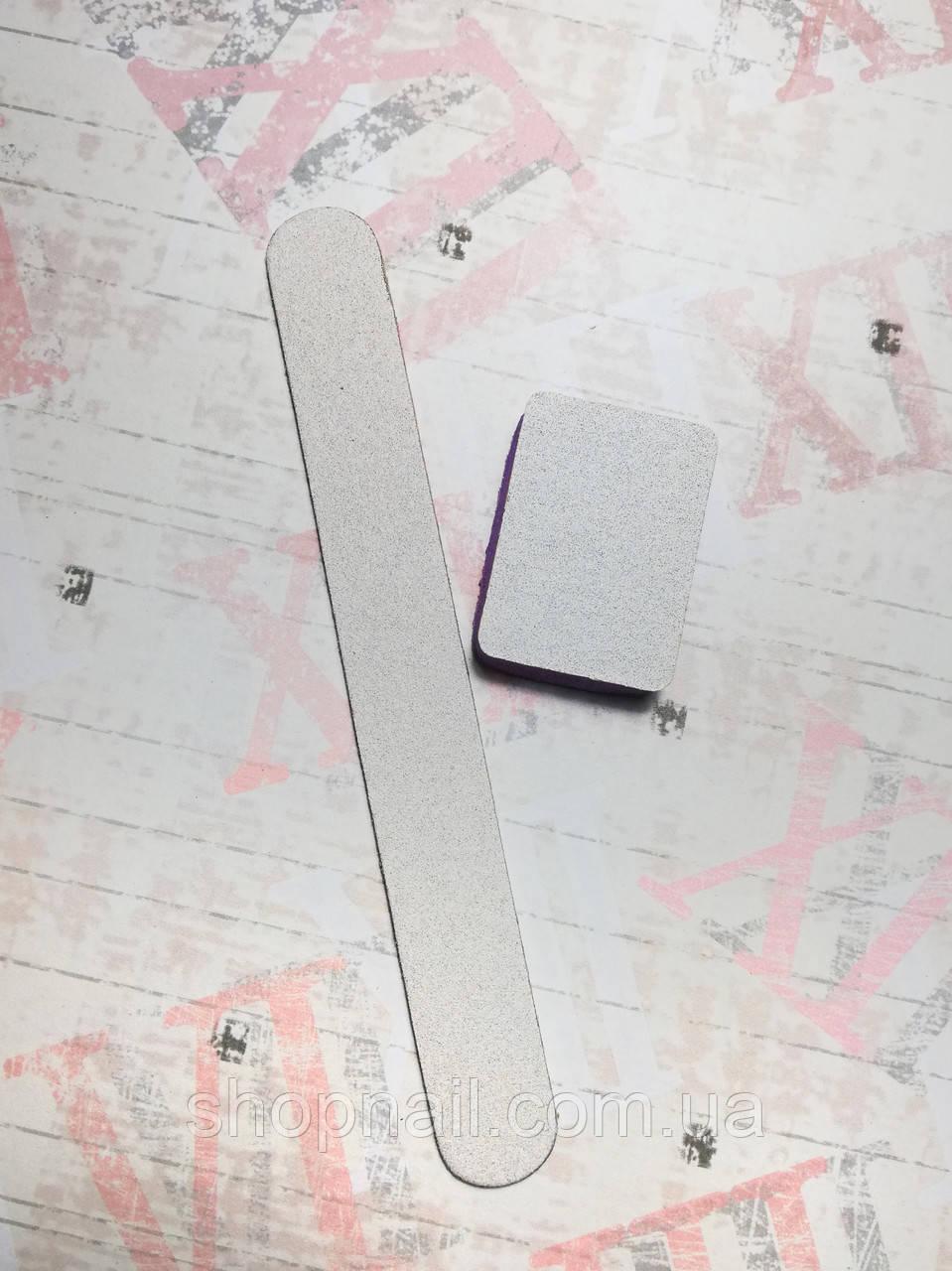 Одноразовый набор для маникюра (пилочка 100/180 и баф 150/180)