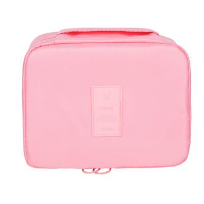 Дорожный органайзер для макияжа Mаkeup pouch Ver.5  розовый 01029/05