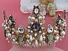 Корона и серьги набор ЭРИКА диадема высокая корона Dolce Gabbana тиары, фото 8