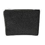 Мужское портмоне из кожи ската Mosart Stingray 2807 черный, фото 3