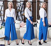 Женские брюки кюлоты в полоску , фото 1