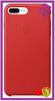 Чехол Apple iPhone 7 Plus Leather Case (OEM) - Red