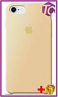 Чехол Apple iPhone 8 Leather Case (OEM) - Cream