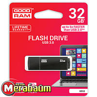 Flash drive USB3.0 32GB GOODRAM UEG3 (Edge) Black (UEG3-0320K0R11)