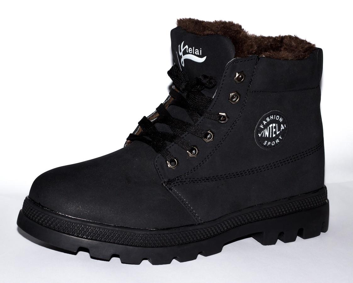 Крепкие зимние ботинки на меху от украинского производителя, ТОЛЬКО 41 (26 см) размер