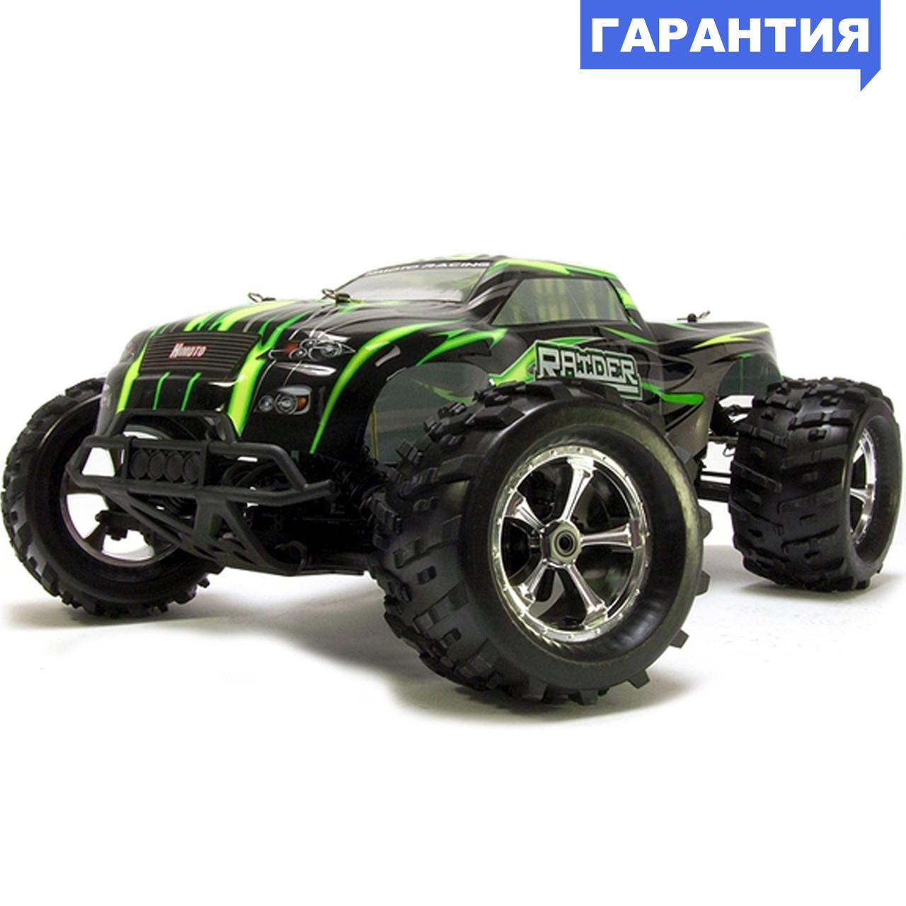 Монстр 1:8 Himoto Raider MegaE8MTL Brushless бесколлекторный (зеленый)